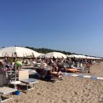La spiaggia di Eraclea Mare...