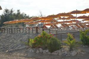 La spiaggia di Eraclea Mare